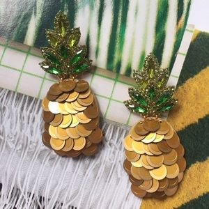 kate spade | pineapple earrings